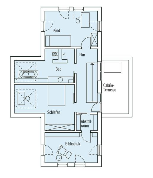 Baufritz Haus Qi   Dachgeschoss