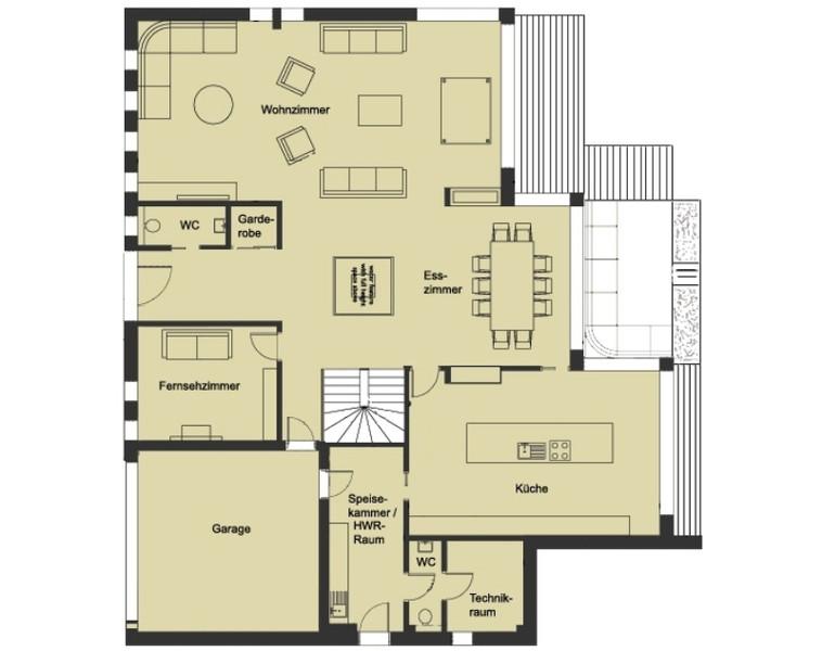 Fertighaus über 300.000€ von Baufritz - Haus Patel