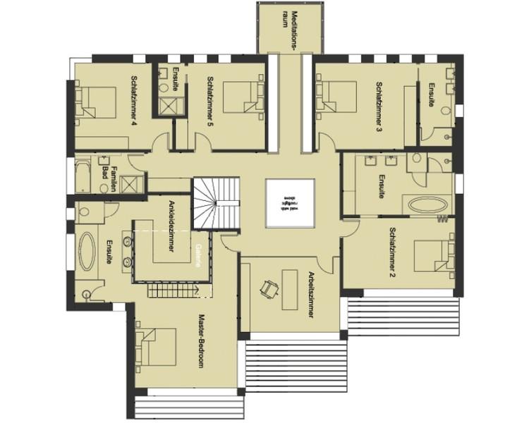 Baufritz Haus Patel   Grundriss Obergeschoss