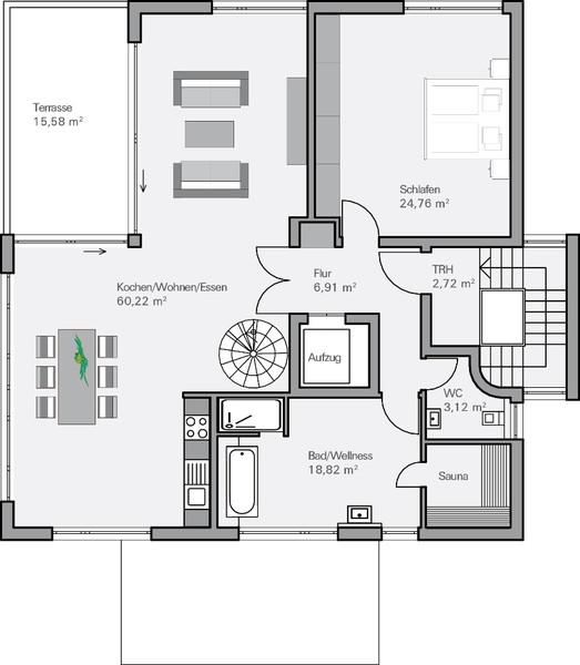 moderne h user im bauhausstil bauen pictures to pin on. Black Bedroom Furniture Sets. Home Design Ideas