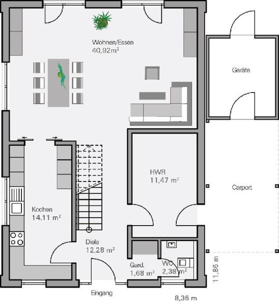 massivhaus bis von baumeister haus haus vollrath. Black Bedroom Furniture Sets. Home Design Ideas