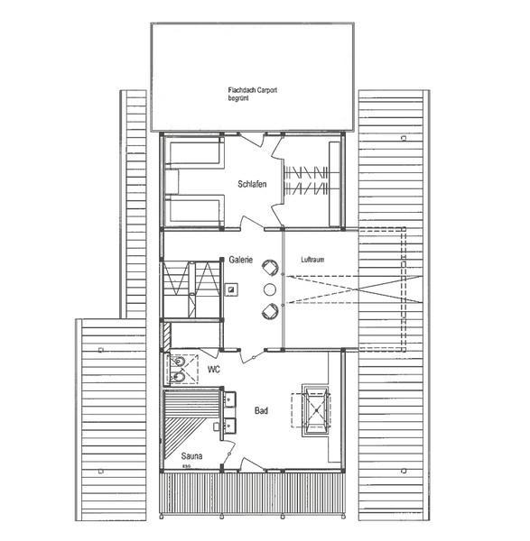 Bad Grundrisse Dachgeschoss : DAVINCI HAUS Bad Laasphe  Grundriss Dachgeschoss