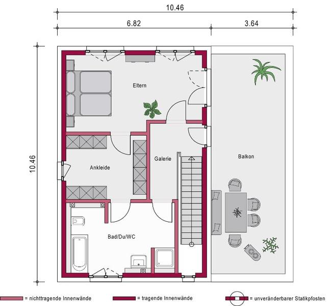 1 platz in der kategorie modern ein steinhaus concept 4 0 s. Black Bedroom Furniture Sets. Home Design Ideas