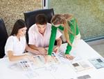 Energie-Planung beim Bau von Büros