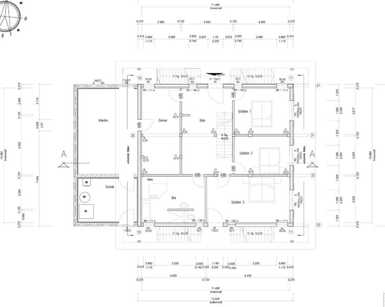 Holzhaus des jahres 2014 fullwood haus saanenland for Modernes haus zeichnung