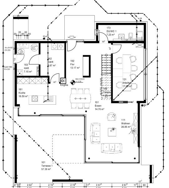 Grundriss Bungalow Okal : Hausbau Design Award 1 Platz Plusenergiehäuser Haus Wuppertal