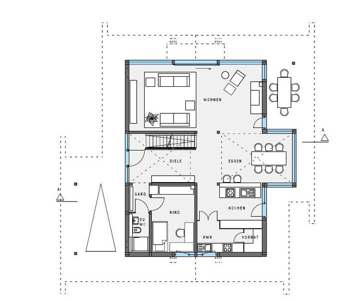 hausbau design award 2014 2 platz landh user huf haus art 3. Black Bedroom Furniture Sets. Home Design Ideas