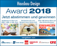 Hausbau Design Award 2018
