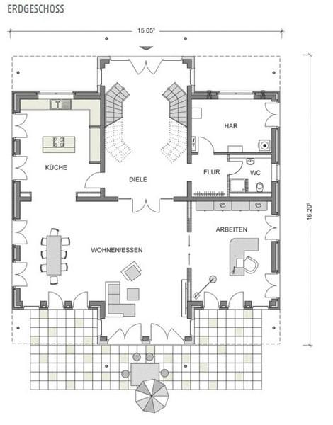 Fertighaus villa grundriss  Fertighaus des Jahres 2014