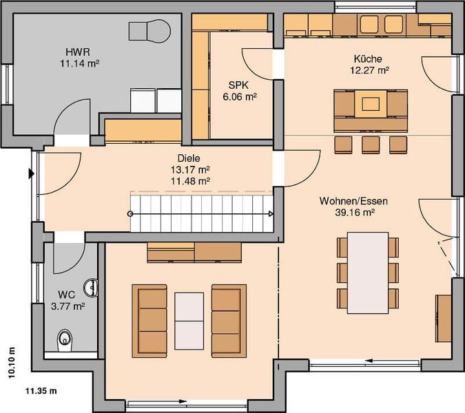 kern haus familienhaus vero. Black Bedroom Furniture Sets. Home Design Ideas