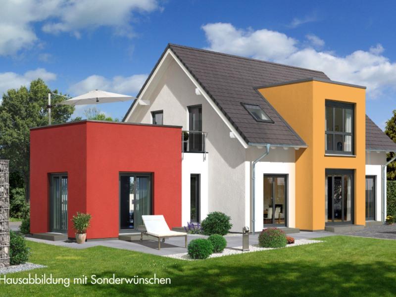 Modernes fertighaus von allkauf prestige 3 v2 for Haus anbau modern