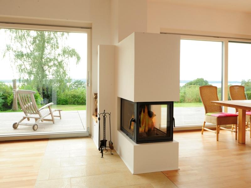 Fertighaus von baufritz bungalow modern for Bungalow modern mit garage