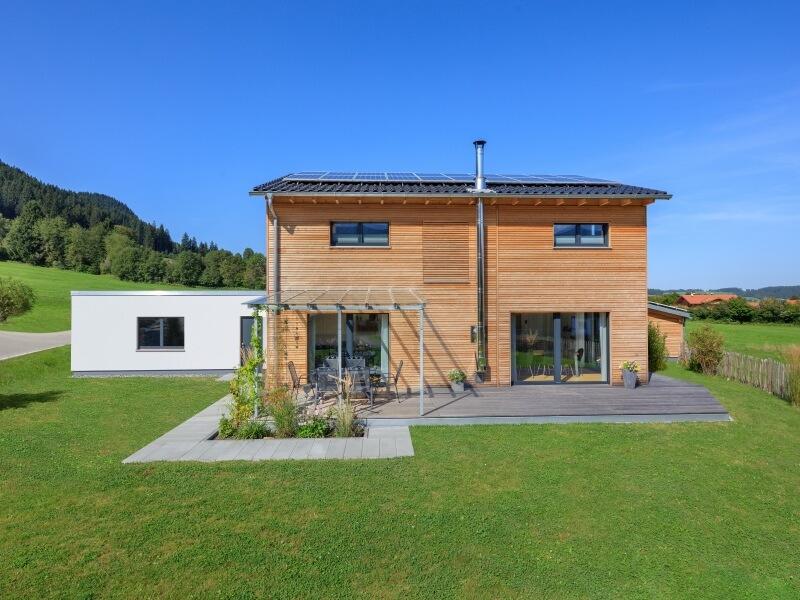 Holzhaus von Baufritz - Haus Einfamilienhaus