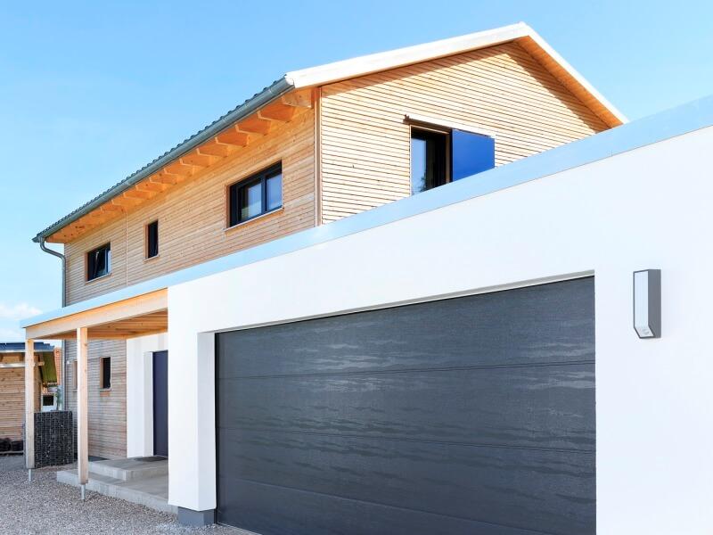 Fertighaus Von Baufritz Haus Einfamilienhaus