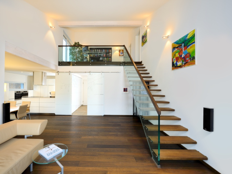 fertighaus von baufritz haus ederer mit weitblick geplant. Black Bedroom Furniture Sets. Home Design Ideas