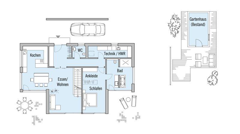 Holzhaus von baufritz haus ederer barrierefreies designhaus for Modernes haus ebenerdig