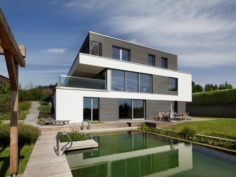 Fertighaus über 300 000€ von Baufritz Haus Kieffer