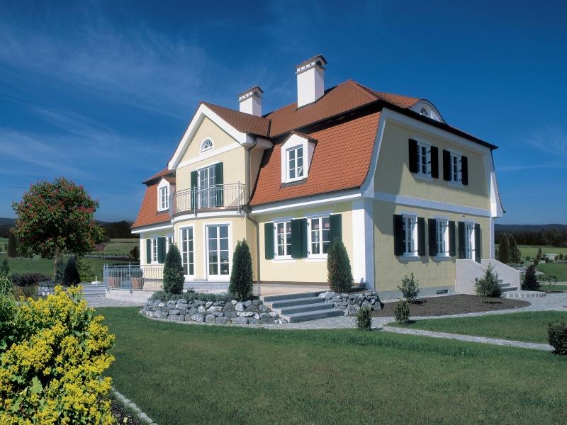 Fertighaus Landhaus Villa