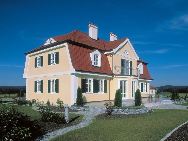 Fertighaus landhaus villa  Fertighaus von Baufritz - Landhausvilla