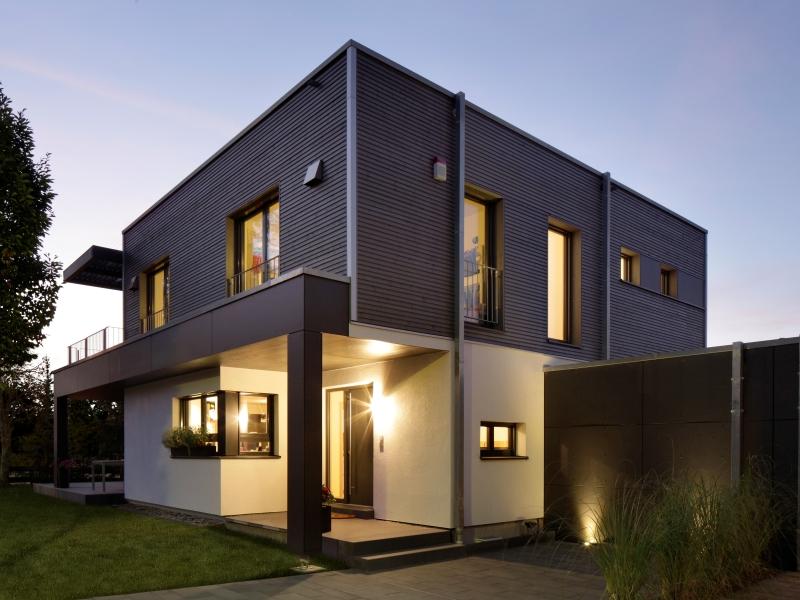 Modernes fertighaus von baufritz haus nilles for Modernes traumhaus