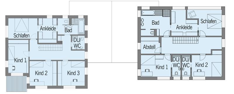 Baufritz Haus Nilles   Grundriss Dachgeschoss