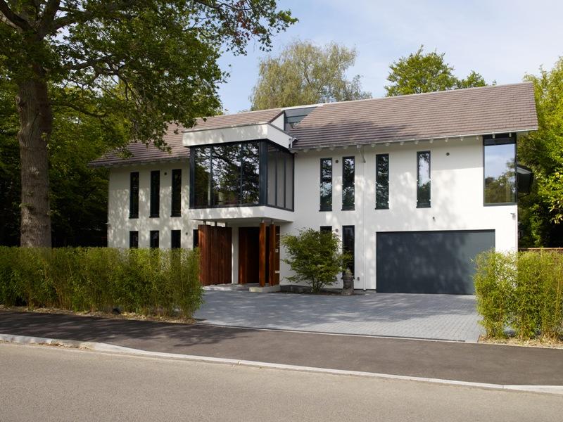 Fertighaus über 300 000€ von Baufritz Haus Patel