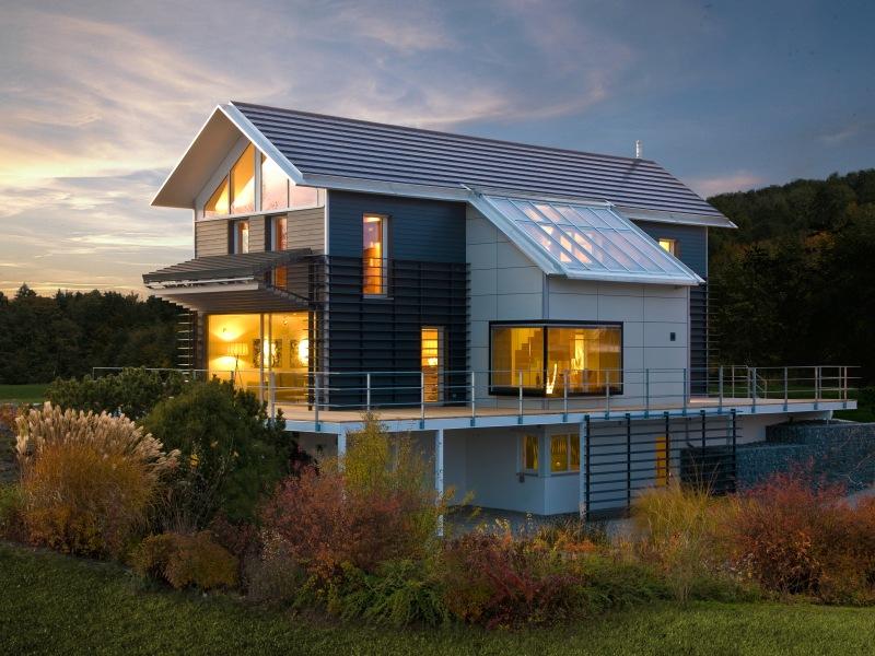 holzhaus von baufritz qi die ausgewogenheit des wohnens. Black Bedroom Furniture Sets. Home Design Ideas