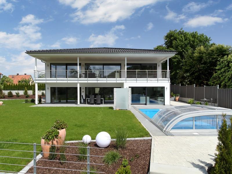 1 platz kategorie modern haus riederle von baufritz for Hausbau bilder