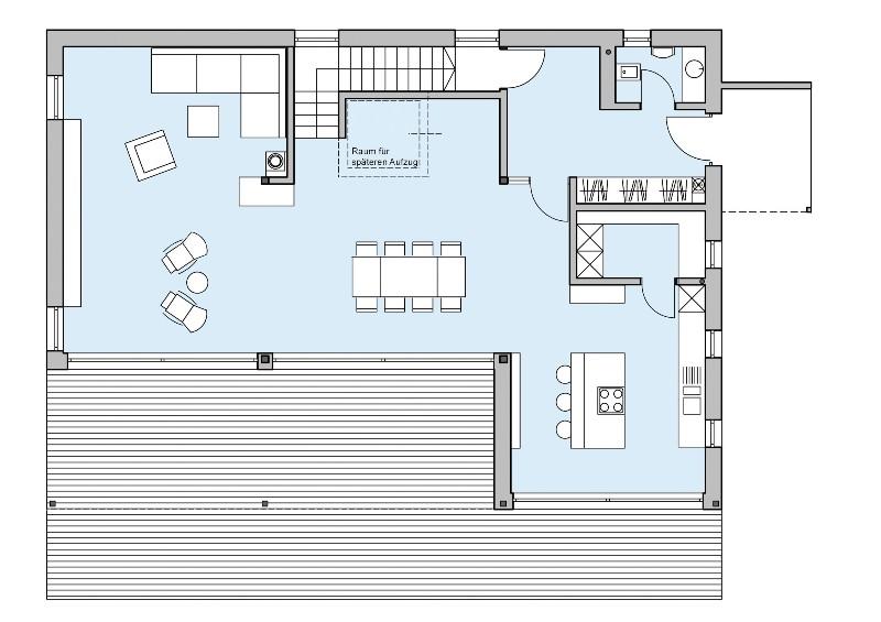1 platz kategorie modern haus riederle von baufritz. Black Bedroom Furniture Sets. Home Design Ideas