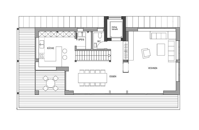 Modernes fertighaus von baufritz haus schwaab for Modernes haus plan
