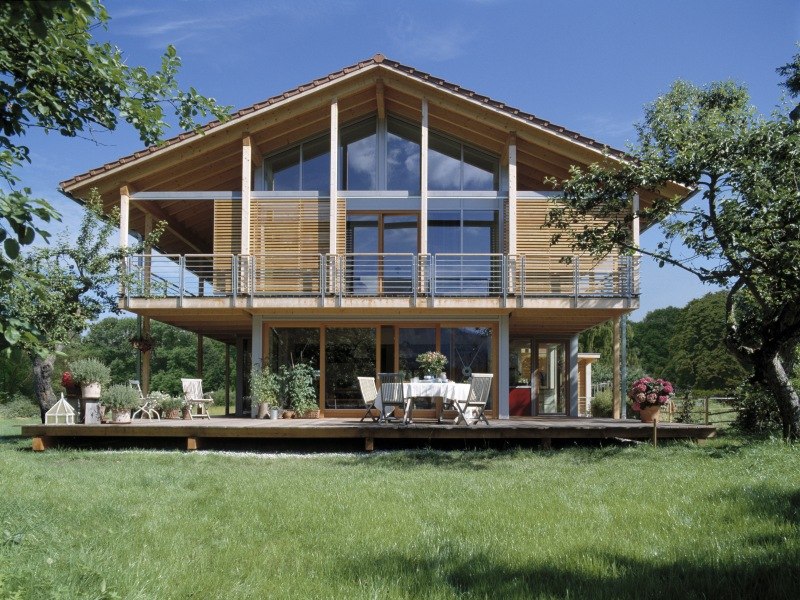 Bio h user kologisch bauen for Innendesign haus