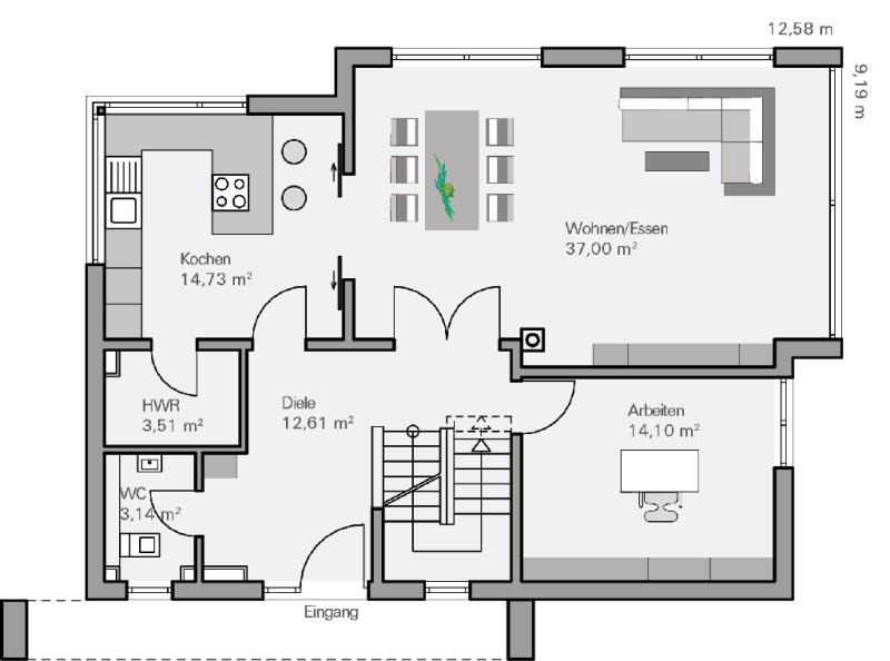 Kleines Modernes Haus Grundriss ~ Die neuesten ...
