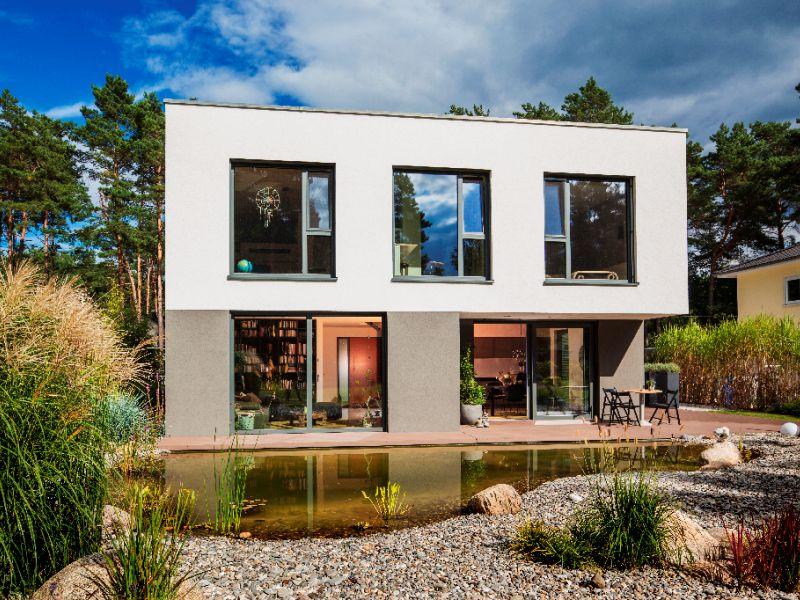 modernes massivhaus von baumeister haus haus cornelius. Black Bedroom Furniture Sets. Home Design Ideas