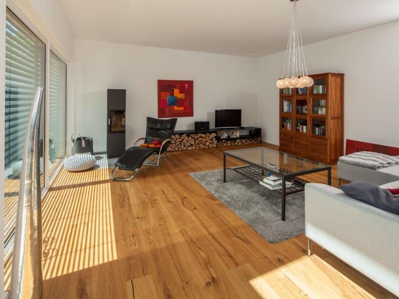 Zweigeschossige Eigenheim Von BAUMEISTERHAUS Haus Nolte - Nolte wohnzimmer