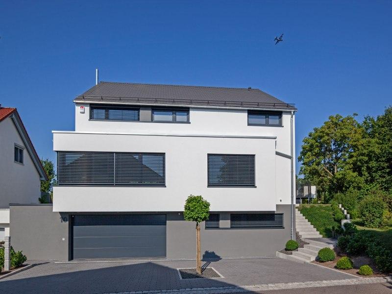 Hausbau modern  3. Platz Kategorie Modern. Baumeister-Haus Haus Quandt
