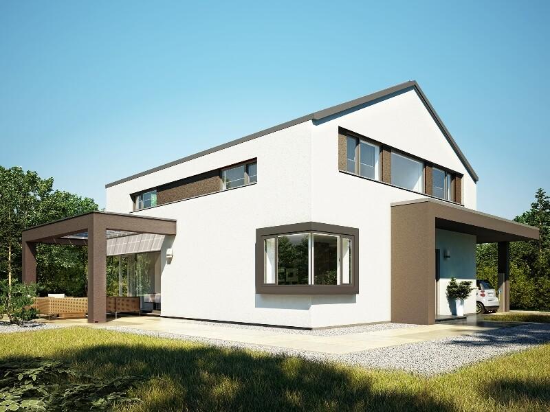 fertighaus von bien zenker concept m 172 k ln. Black Bedroom Furniture Sets. Home Design Ideas