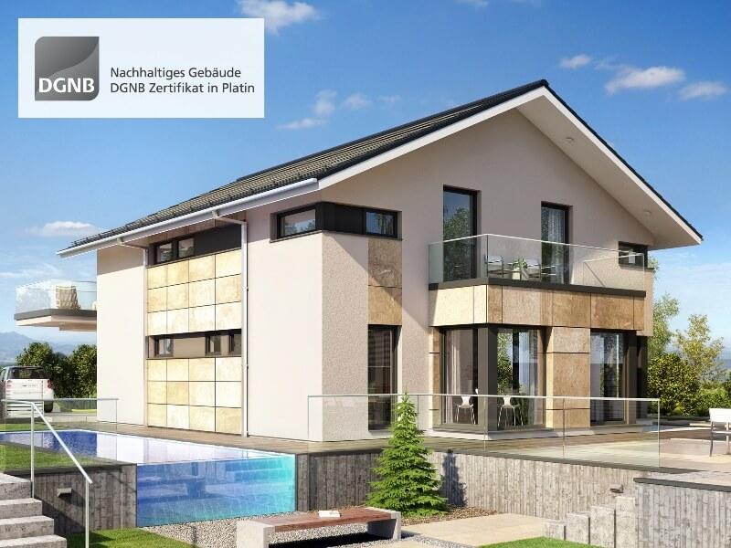 ^ 1. Platz Bien Zenker - Musterhaus oncept-M Poing