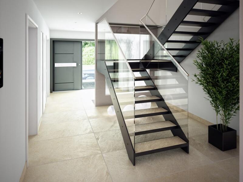 1 Platz Bien Zenker Musterhaus Concept M Poing