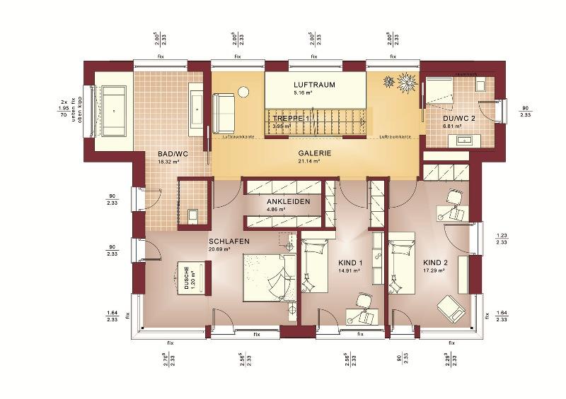 ^ Hausbau Design ward 2014 3. Platz Bien Zenker Haus Wuppertal