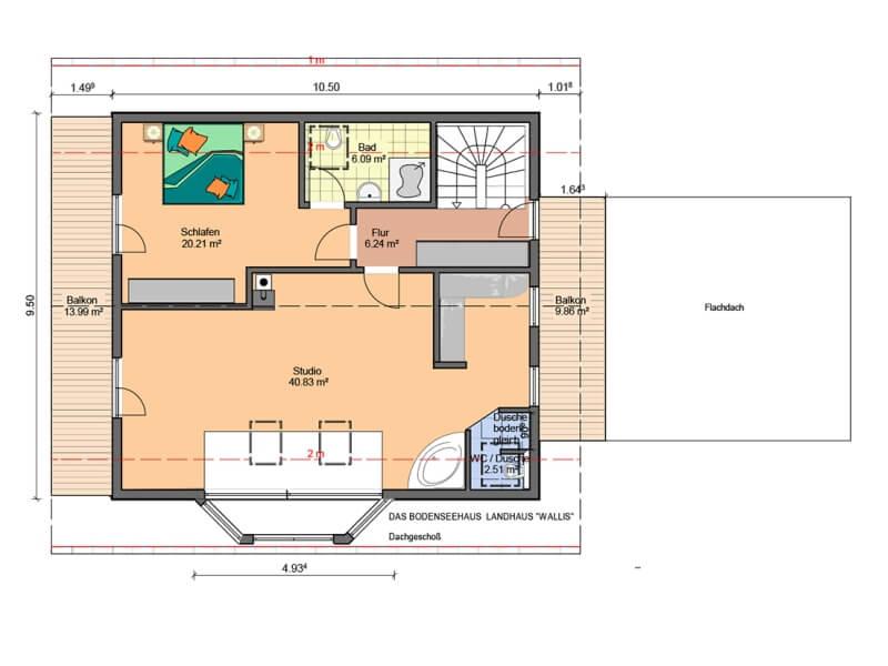 1 platz kategorie landh user haus wallis bodenseehaus. Black Bedroom Furniture Sets. Home Design Ideas