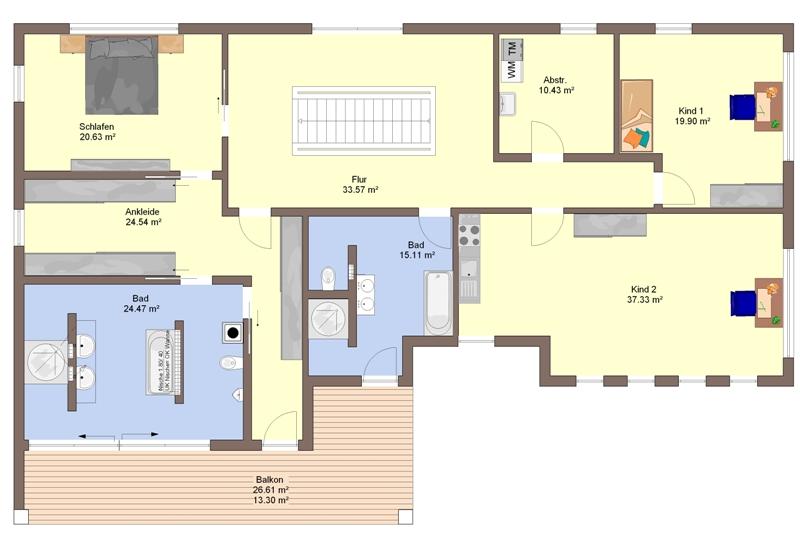 fertighaus von b denbender haus calando. Black Bedroom Furniture Sets. Home Design Ideas
