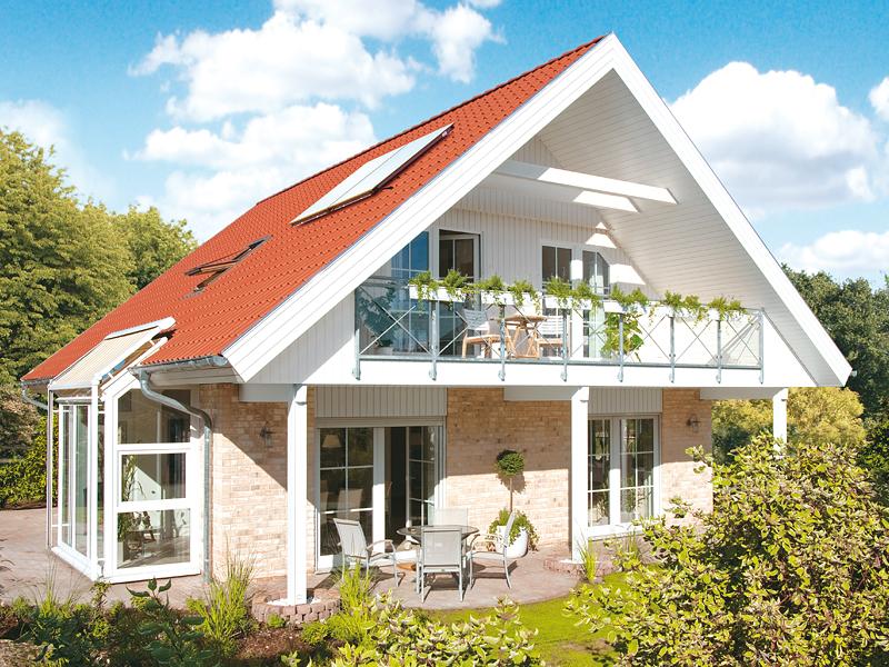 klassisches fertighaus von danhaus haus stockholm. Black Bedroom Furniture Sets. Home Design Ideas