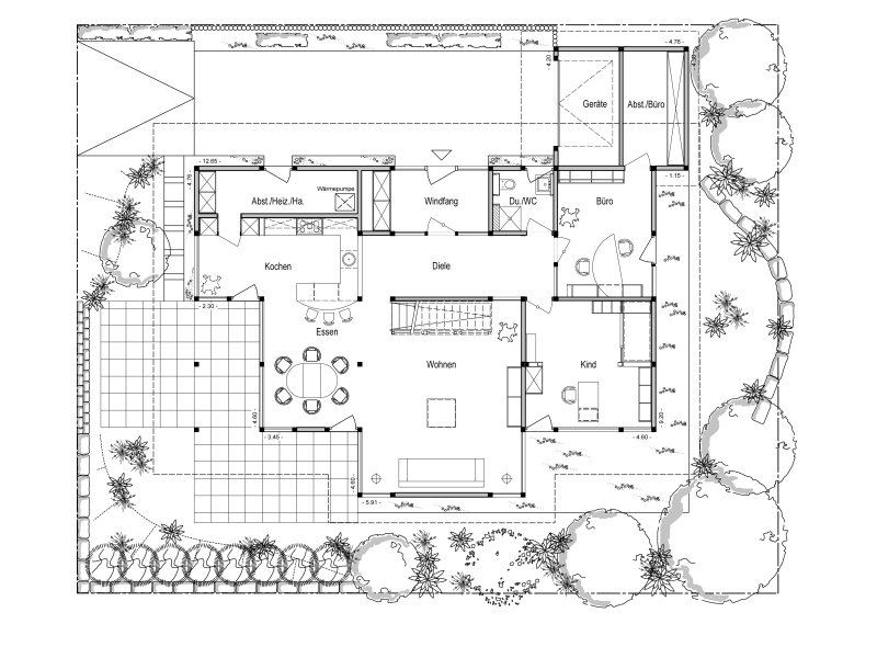 Traumhaus grundriss  Top Musterhaus von DAVINCI HAUS: Musterhaus Bad Vilbel