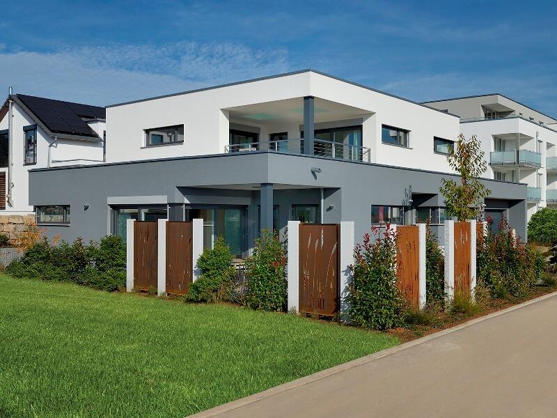 1. Platz Kategorie Kundenhäuser Haus Geyer von Fertighaus Weiss