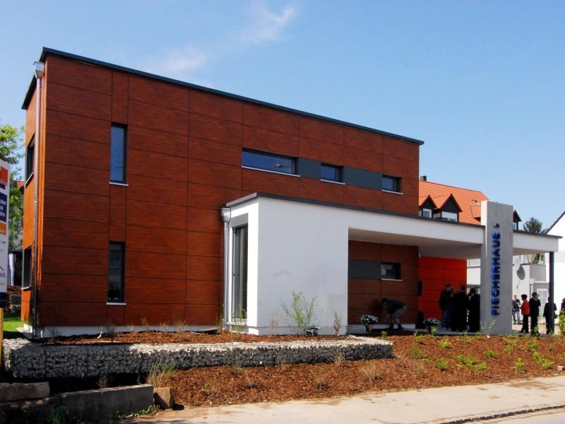 fertighaus von fischerhaus cubus 5. Black Bedroom Furniture Sets. Home Design Ideas