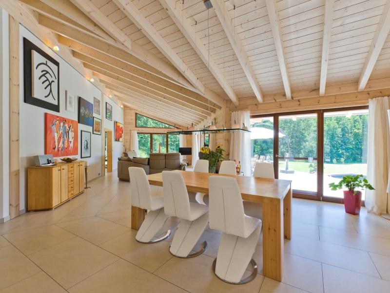 Haus chalet cilgia luxuri ses traumhaus aus nordischer for Moderne bauweise