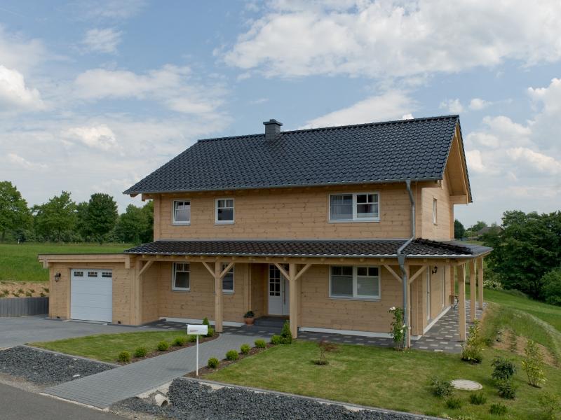 Fullwood kieferngl ck for Modernes haus 2 vollgeschosse