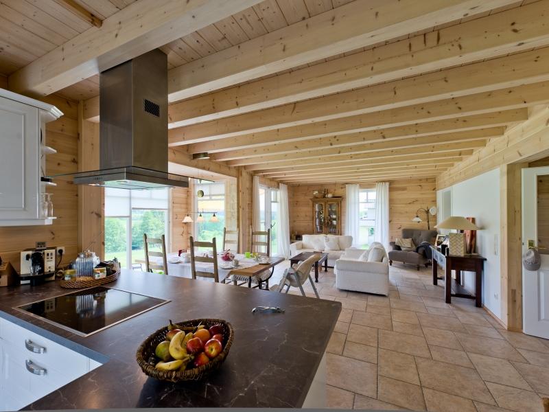 Hausdaten mit grundgriss fullwood kieferngl ck for Modernes haus mit luftraum