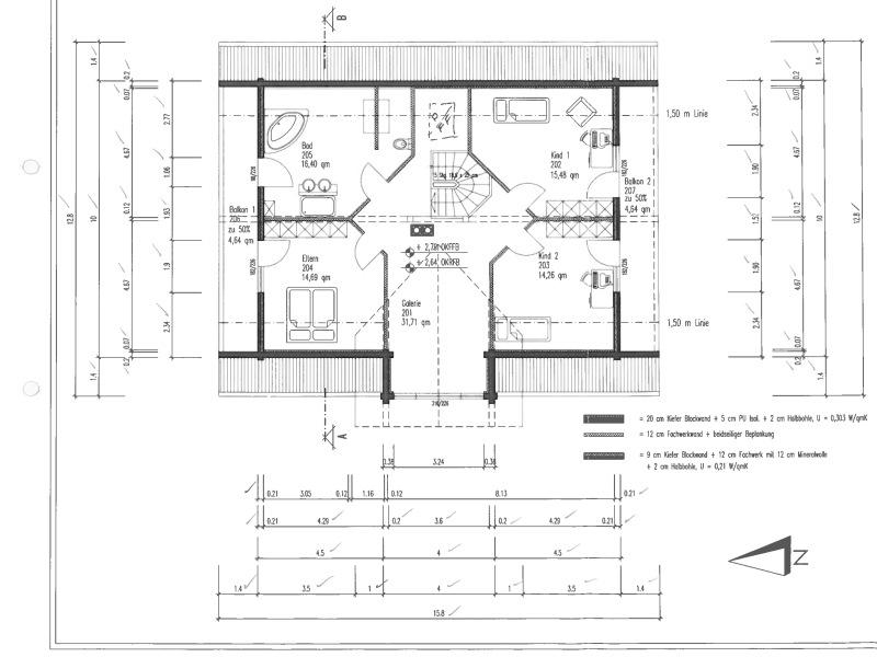 Klassische h user von fullwood traunviertel for Hausplanung grundriss