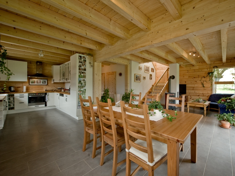 Schwedenhaus innenausbau  Fullwood Haus Westerwald - Schmuckes Schwedenhaus